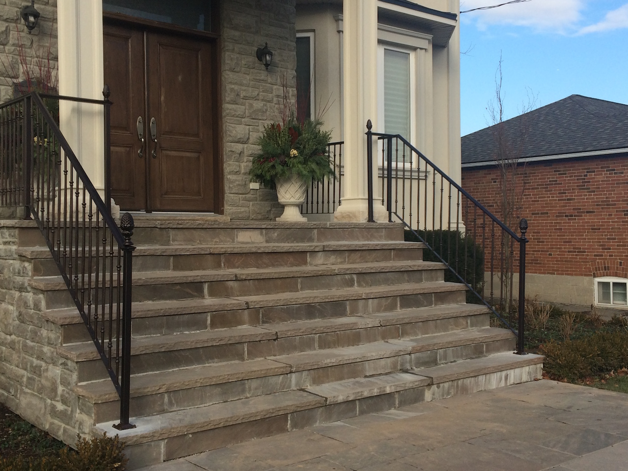 GALLERY | EXTERIOR | Wrought Iron Railings – Innovative Metal Works