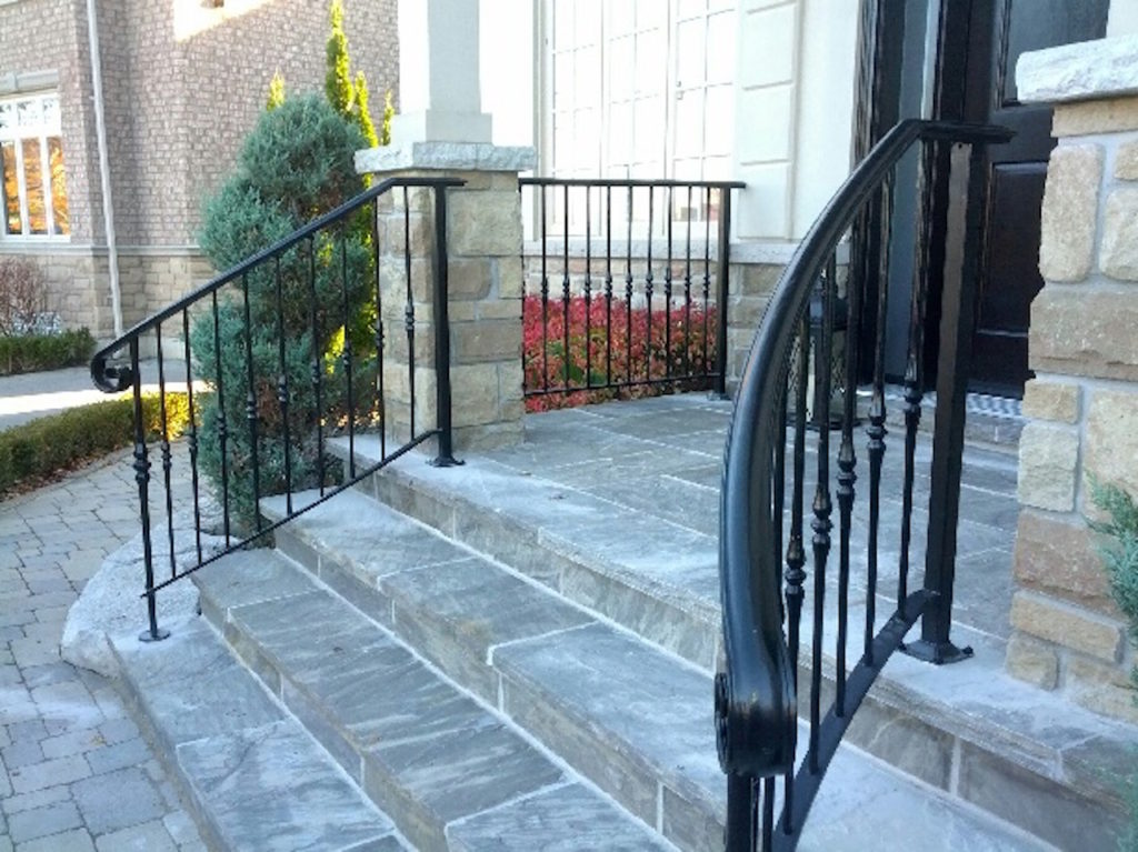 Gallery Exterior Wrought Iron Railings Innovative Metal Works