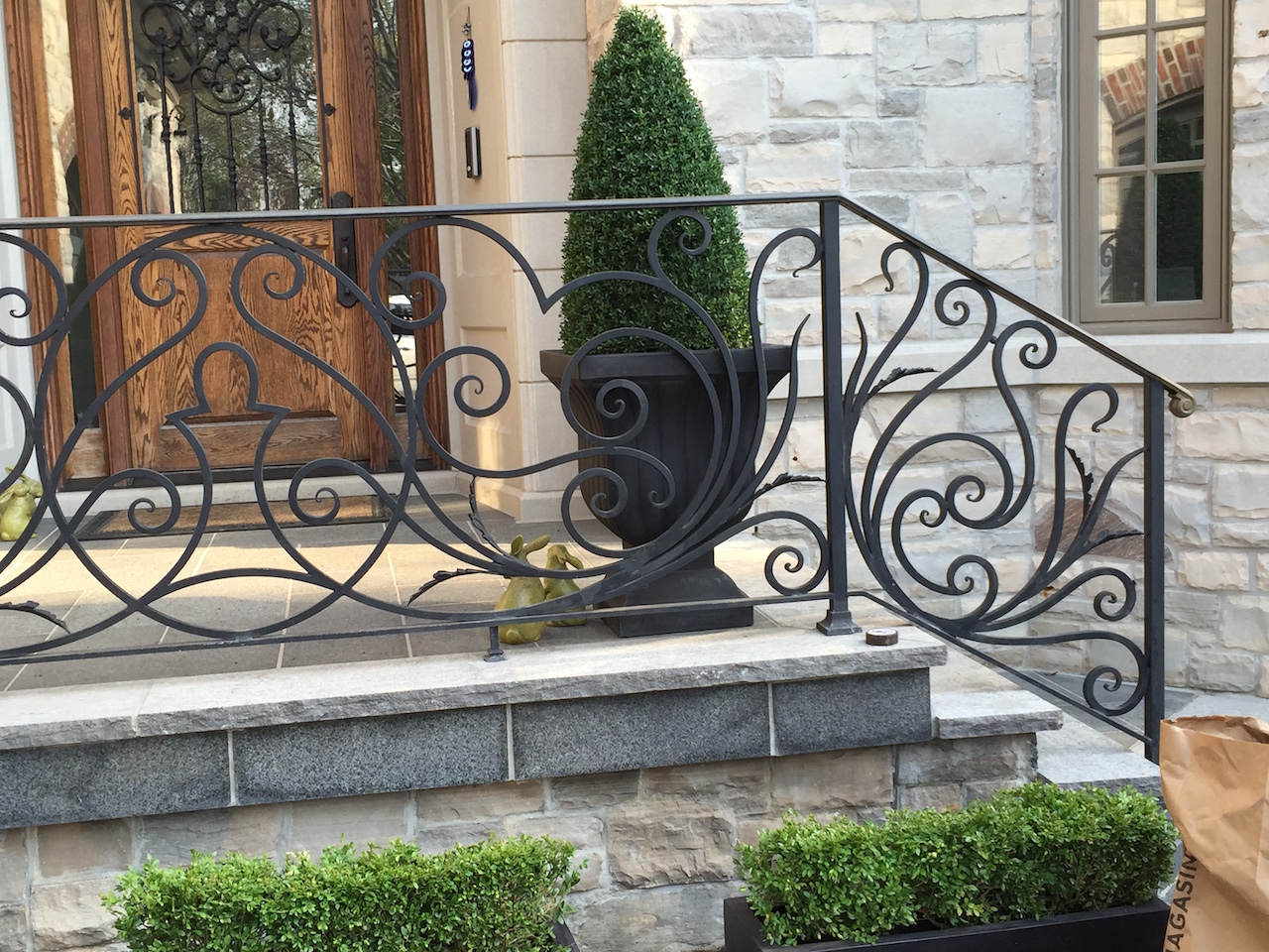 GALLERY   EXTERIOR   Wrought Iron Railings – Innovative Metal Works