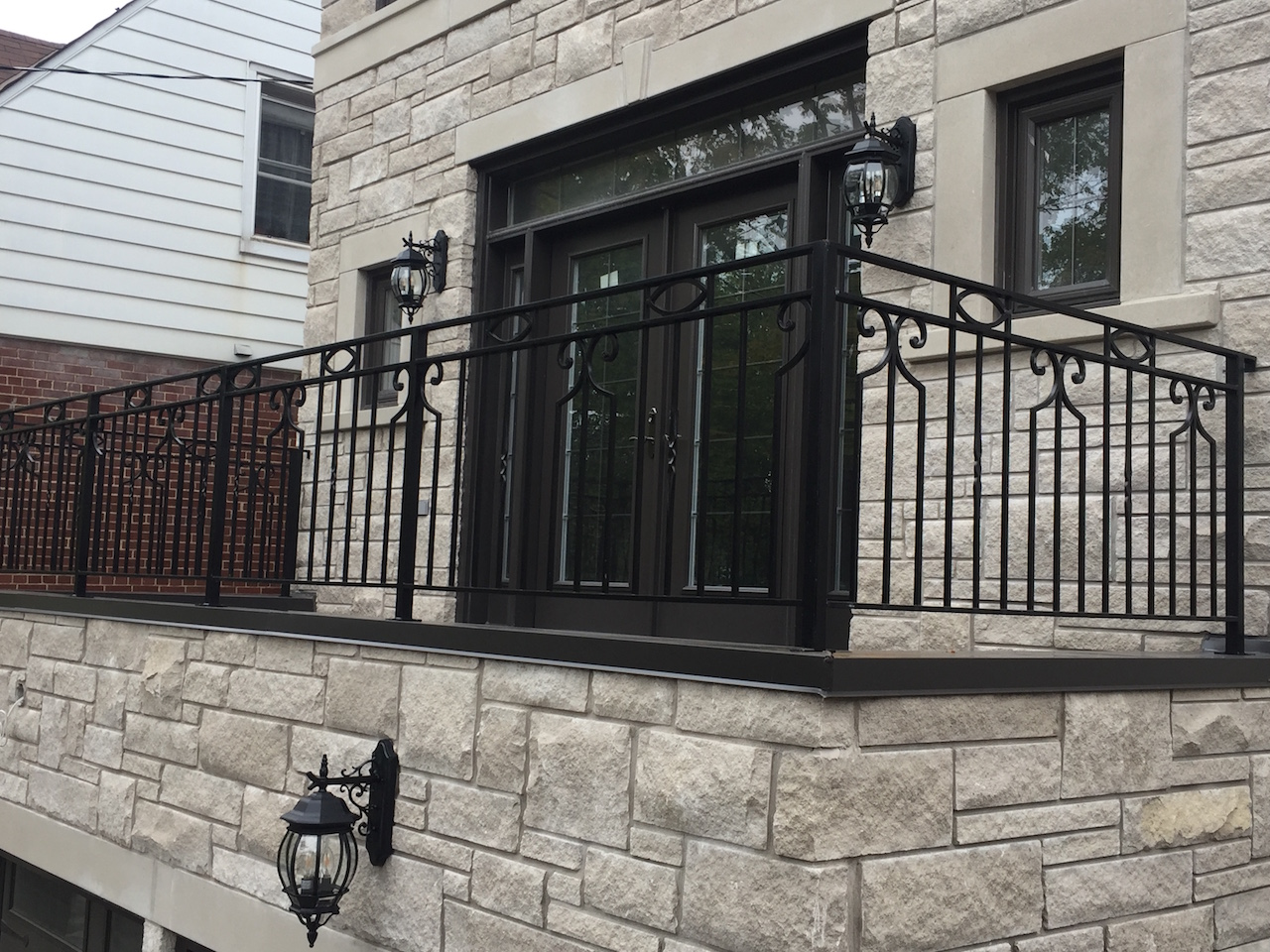 Gallery Exterior Wrought Iron Railings Innovative