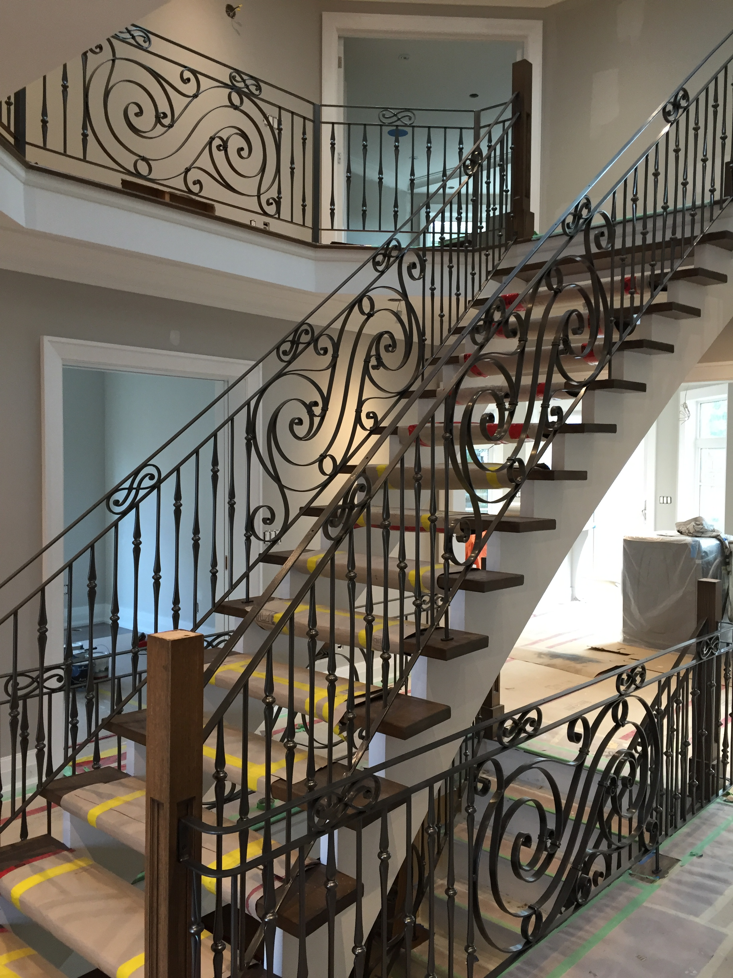 Gallery Interior Wrought Iron Railings Innovative
