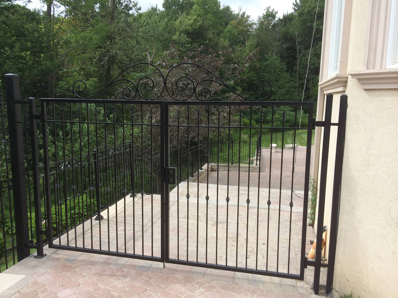 Gallery Wrought Iron Gates Fences Innovative Metal Works